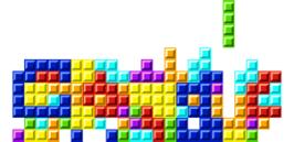 Logo Google tetris