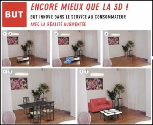 But propose de visualiser le mobilier chez vous grâce à la réalité augmentée