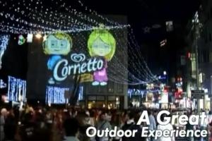 Exemple d'un évènement mis en place par la marque Cornetto