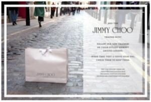 Jimmy Choo et le sac déposé dans la rue