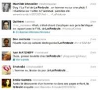 Premiers tweets contre la Redoute